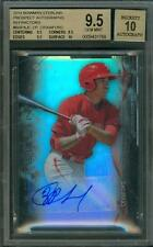 2014 Bowman Sterling Refractor Auto /150 JP Crawford BGS 9.5 10 Rookie Autograph