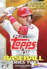 2020 Topps Series 2 Baseball EXCLUSIVE HUGE Factory Sealed 67 Card HANGER Box