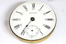 Waltham P.S Bartlett open face pocket watch movement for parts/restore