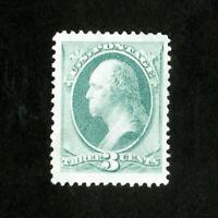 US Stamps # 147 Huge w/ slight thin unused w/o gum