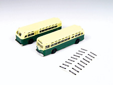 N Mini Metals 52309 * GMC TDH-3610 Transit Bus * Transit Green & Cream (2)