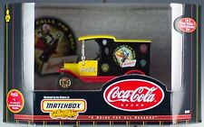 Matchbox Coca-Cola Holiday Vehicles #5 of 6 July 4th 1912 Ford Model T New 1999