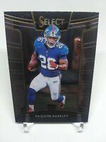 2018 Panini Select Concourse Saquon Barkley Rookie Card #17 New York Giants