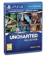 UNCHARTED NATHAN DRAKE COLLECTION PS4 GIOCO PLAYSTATION 4 VIDEOGIOCO ITALIANO