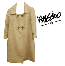Fabulous Mossino Gold thatch 60s style coat - Size XXL (18)