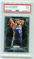 ZION WILLIAMSON- 2019-20 Panini Prizm Rookie #248 PSA Mint 9 - Pelicans