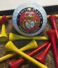 United States Marine Corps Golf Ball Nike, & Tees Collectible
