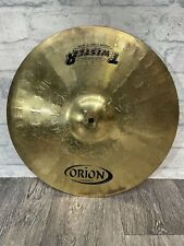 """More details for orion twister medium crash cymbal 16""""/41cm cymbal drum accessory"""