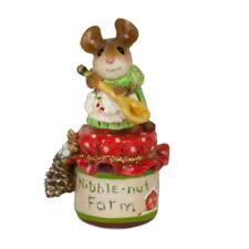 Wee Forest Folk TM-2a Li'l Jar of Christmas Jam