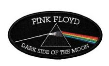 """Pink Floyd Dark Side of the Moon Iron On Patch 4"""" x 2 1/4"""" Free Ship P0646"""