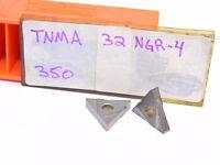 NEW SURPLUS 8PCS.  CARBOLOY  TNMA 32NGR4  GRADE: 350  CARBIDE INSERTS