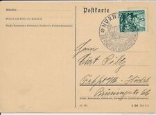 Card Germany WWII 1939 Third Reich April 20 Hitler's Birthday