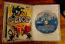 De Blob Nintendo Wii 2008 Video Game Action Rated E w Instruction Booklet Manual