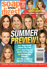 Soap Opera Digest June 3 2019 Summer Preview Issue Denise Richards Brytni Sarpy