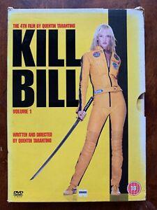 Kill Bill Vol.1 DVD 2003 Tarantino Action Kung Fu Movie Classic w/ Slipcover