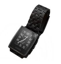 Gehäusegröße 22mm Pebble OS Smartwatches aus Edelstahl