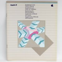 Apple Supplement to the Owner's Manual for the Apple II 1982 030-0535-A