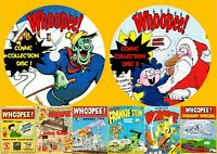 Whoopee! - Frankie Stein UK Comics & Annuals On Two PC DVD Rom's (CBR FORMAT)
