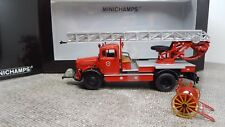 Minichamps 439350080 Mercedes Benz L 3500 DL 17 Feuerwehr Bensheim 1:43 NEU OVP