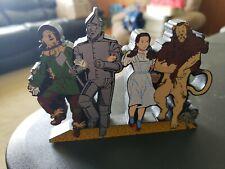 Shelia's Down the Yellow Brick Road Wooden Shelf Sitter Wizard Of Oz 2000
