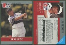 1990 Pro Set PGA Tour - Promo - Lee Trevino - Variation du logo plus petit (a)