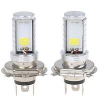 2x H4 COB LED Fern- / Abblendlicht Auto Motorrad Scheinwerfer Nebelscheinwerfer
