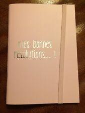 MES BONNES RÉSOLUTIONS ...! LBVYR CARNET DE NOTES NEUF