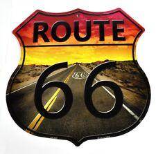USA großes Route 66 Deko Blechschild
