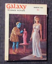 1954 March GALAXY Science Fiction Digest Magazine FN- 5.5 Don Thompson