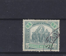 Federated Malay States KEVII/KGV SG 48a small nick spacefiller Used