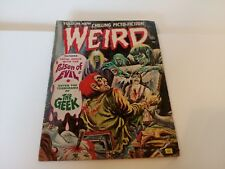 Weird April 1973 Picto-Fiction Poison of Evil The Geek Horror Dolls Vintage WD1