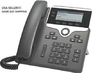 CISCO IP Phone Wall Mountable Cisco CP-7811-K9 Office IP Phone, Charcoal
