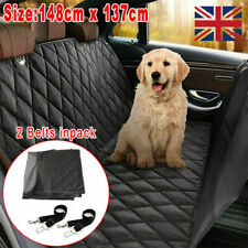 More details for large waterproof dog car seat cover pet boot liner protector rear back hammock