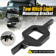Tow Hitch Mount Bracket Holder For Dual LED Backup Reverse Search Off road