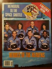 Memorial to The Space Shuttle- Heroes of The Heavens Magazine Magnificent Seven