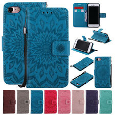 For iPhone SE 2nd Generation 2020 Magnetic Leather Flip Wallet Stand Case Cover