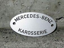 Karosserieschild für alle 300er Typen Mercedes Benz car body plate