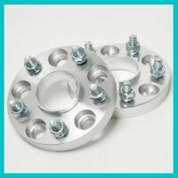 2 Hub Centric Wheel Spacers Adaptor 25mm 5x114.3 4.5 60.1 | 60mm fit 12x1.5