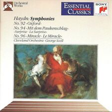 Haydn, George Szell, Cleveland Orchestra ‎CD Symphonies No. 92 »Oxford« ᐧ