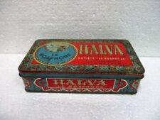 """Ancienne boite en tôle lithographiée HALVA,  """" Sté le BOSPHORE """""""