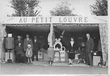 Photo - Stand AU PETIT LOUVRE Bourbon-Lancy (71)  Foire Exposition - Années 1920