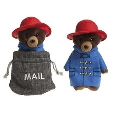 "Official Paddington The Bear 8"" Soft Plush Teddy in Mail Sack"