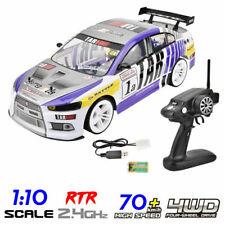70km/h de alta velocidad de escala 1/10 RC coche de carreras de simulación de alta 4WD vehículo Drift RTR