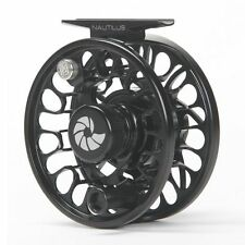 NEW NAUTILUS NV G-6/7 6-7 WEIGHT FLY REEL BLACK RIGHT HAND RETRIEVE FREE WW SHIP