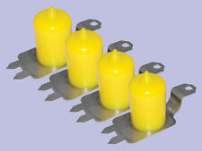 Land Rover Discovery 2 Set of 4 Extended  Polyurethane Bump Stops Yellow
