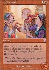 MTG  4X ** BROWBEAT FOIL ** X4 Time Spiral Judgment