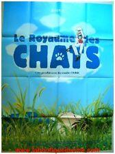 LE ROYAUME DES CHATS Affiche Cinéma Movie Poster GHIBLI