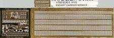 Tom's Model 710 x 1/700 Escort Carrier w/Rails Detail Set