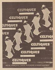 Z9477 Cigarettes CELTIQUES -  Pubblicità d'epoca - 1939 Old advertising