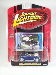 JOHNNY LIGHTNING 1975 SUPER BEETLE CABRIOLET VOLKSWAGEN 1/5000 Rubber Tires NEW